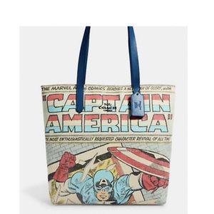 Coach Captain America Tote